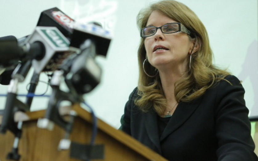 """Mary Mayhew, Maine's health and human services commissioner: """"Everybody in the health care system and in the community needs to be involved to prevent drug and alcohol exposure during pregnancy."""""""