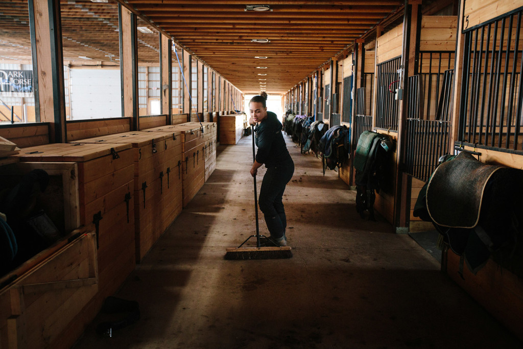 On The Job Taking The Lead At Saco Stable Portland