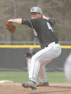 BOWDOIN COLLEGE starting pitcher Henry Van Zant leads the Polar Bears against rival Bates College this weekend in a key Eastern Division series.