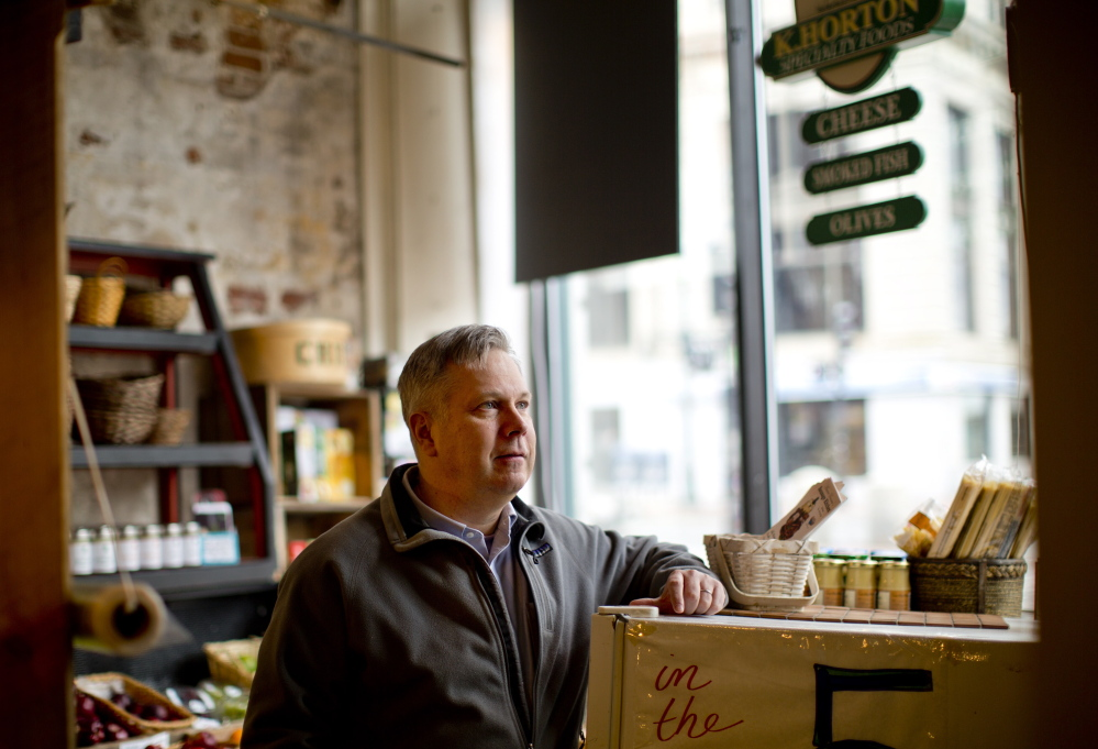Credit project director Scott Budde, at the Portland Public Market House, says many banks don't have loan officers who understand the financing needs of those in the food sector.