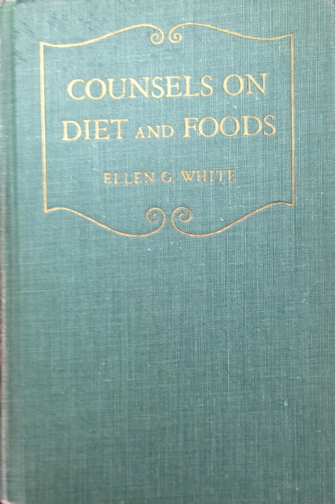 This book, published in 1938 after White's death, compiles passages from her writings and teachings about food, and addresses her ideas on why people should eat less meat, or none at all.