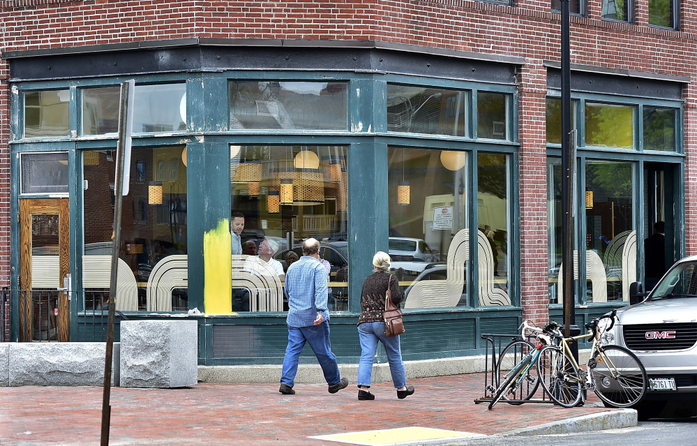 The Honey Paw restaurant on Middle Street in Portland is one of those from which food blogger John Golden has been banned.