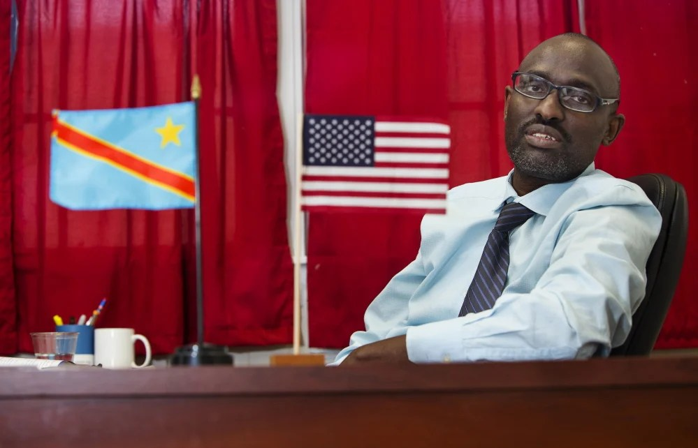 """Claude Rwaganje, who fled the Democratic Republic of Congo in 1996 and now helps refugee families in Maine, has been fielding many phone calls from asylum seekers asking him what will happen to General Assistance. """"They are afraid,"""" he said."""