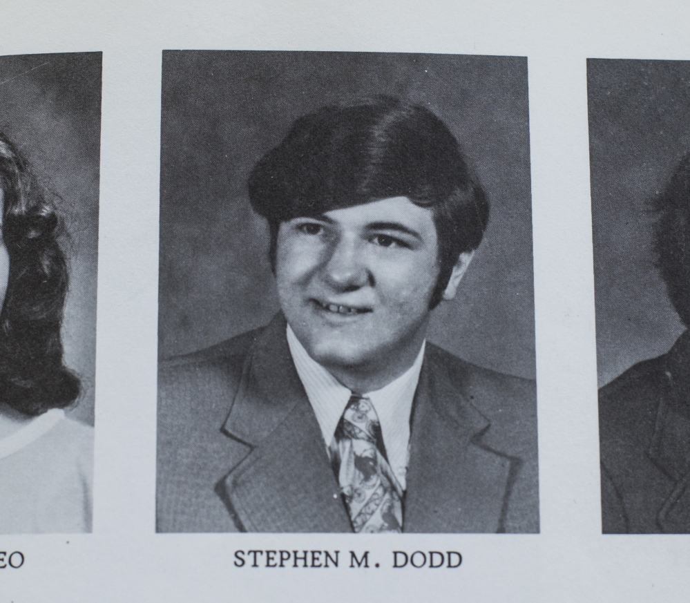 Stephen Dodd In 1975. When he graduated from high school, he decided to become a police officer like his father.
