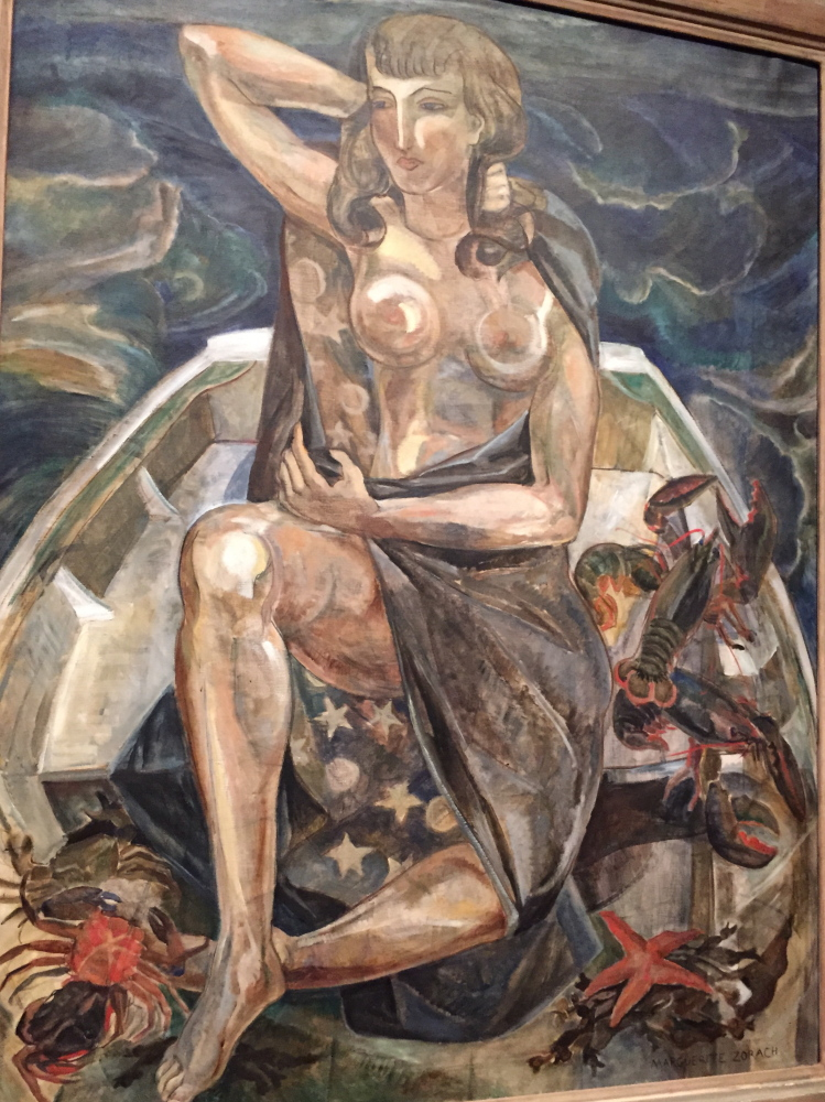 Diana of the Sea, museum purchase in memory of Tessim Zorach, with support from the Friends of the Collection, The Peggy and Harold Osher Acquisition Fund, Mr. and Mrs. Charlton H. Ames, Mr. and Mrs. Donald Beddie, Mr. and Mrs. Fletcher Brown, Joan B. Burns, Lewis Cabot, Mr. and Mrs. Peter Cardone, Dr. and Mrs. Jerome Collins, Henry and Lucy Donovan, Margaret Early, Mrs. Leslie M. Emerson Sr., Sally Fowler, Ed and Alberta Gamble, Caroline Glassman, Susan Hamill, William Hamill, Alison D. Hildreth, Mr. and Mrs. Lawrence Hughes, Mr. and Mrs. Harry Konkel, Mr. and Mrs. Donald Lowry, Mr. and Mrs. Harold Nelson, Nancy Masterton, Dr. and Mrs. Alfred Osher, Harold and Peggy Osher, Frannie Peabody, John B. Pierce Jr. (LaChaise Foundation), Nelson Rarities, Arlene and Bill Schwind, Charles and Samuella Shain, John and Gale Shonle, Mr. and Mrs. Samuel Z. Smith, Mr. and Mrs. Henry Trimble, Mrs. Betty Winterhalder, Katherine and Roger Woodman and Diana J. Washburn, 1995.
