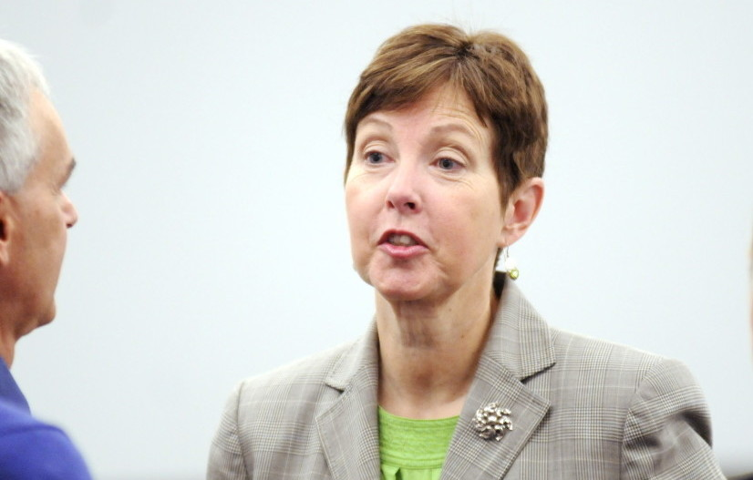 Maine Department of Environmental Protection Commissioner Patricia Aho is stepping down.