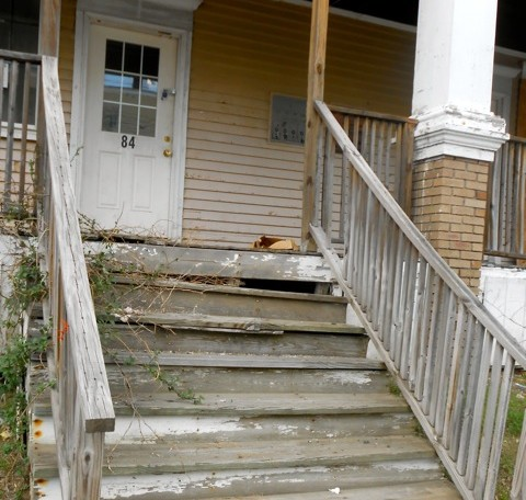 Code violations discovered during lead inspections must be repaired, and that can make landlords reluctant to get lead inspections.  Maine Center for Public Interest Reporting photo