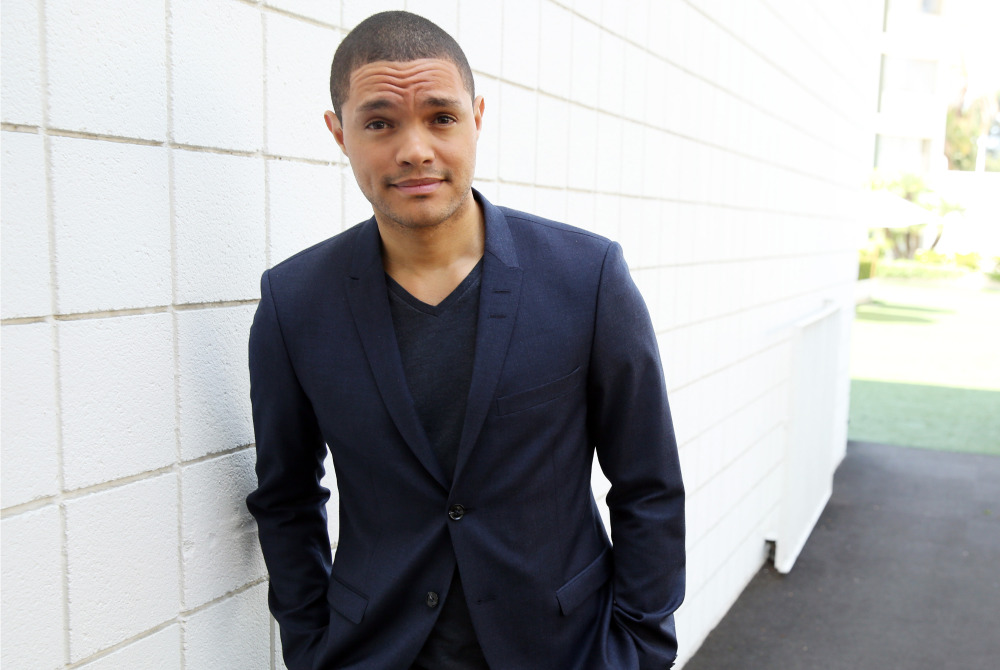 "Trevor Noah, host of the new ""The Daily Show with Trevor Noah,"" poses for a portrait in Beverly Hills, Calif."