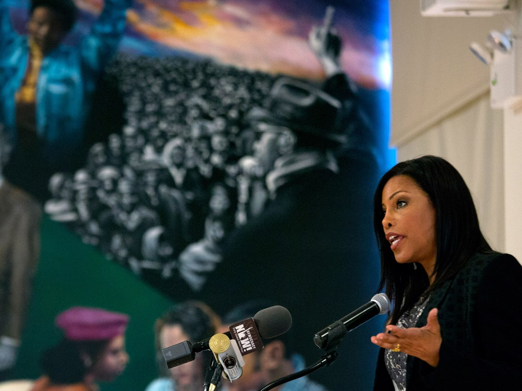 Ilyasah Shabazz and prize-winning authors Gary Paulsen and M.T. Anderson are among the 10 nominees on the National Book Awards' long list for young people's literature, the National Book Foundation announced, Monday. The Associated Press