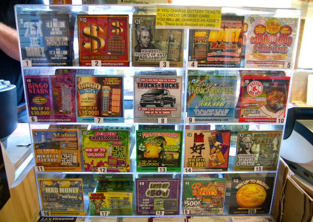 Millions Spent To Boost Maine Lottery Sales But Losing