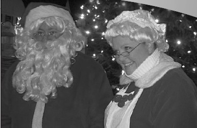 Santa and Mrs. Claus will light the Christmas tree in Central Park Friday evening Dec. 4 following the 5:30 p.m. Holly Daze parade.