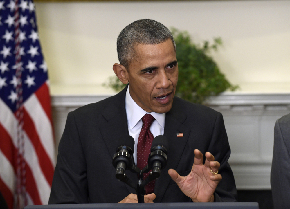 President Obama has spent months prodding other countries to make ambitious carbon-cutting pledges to a global agreement aimed at tackling climate change.