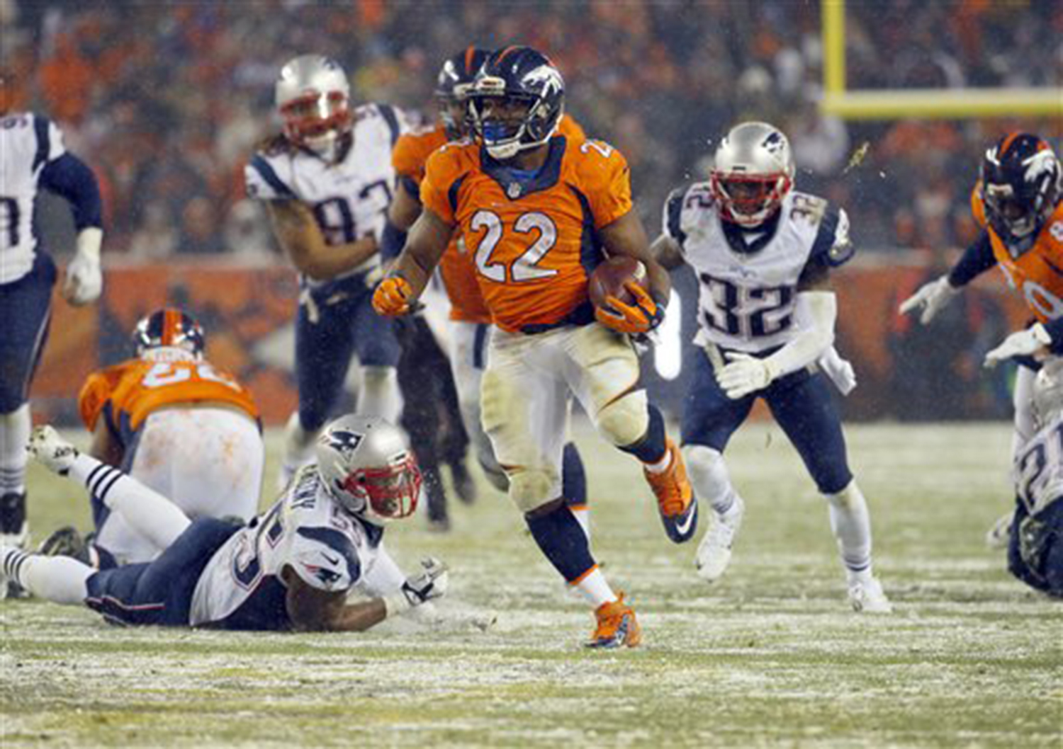 Maine Fall Wallpaper Patriots Lose To Broncos In Overtime 30 24 Portland