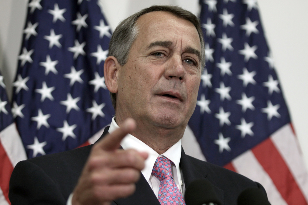 Because many conservatives didn't trust John Boehner, the  former speaker was always in the position of shoring up support for the next leadership election.