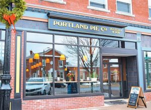 THE PORTLAND PIE CO. at 92 Maine St. in Brunswick officially opened its doors Monday.