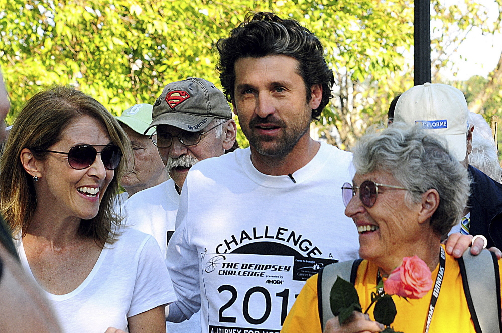 Actor Patrick Dempsey Celebrates 50th Birthday A Photo Gallery