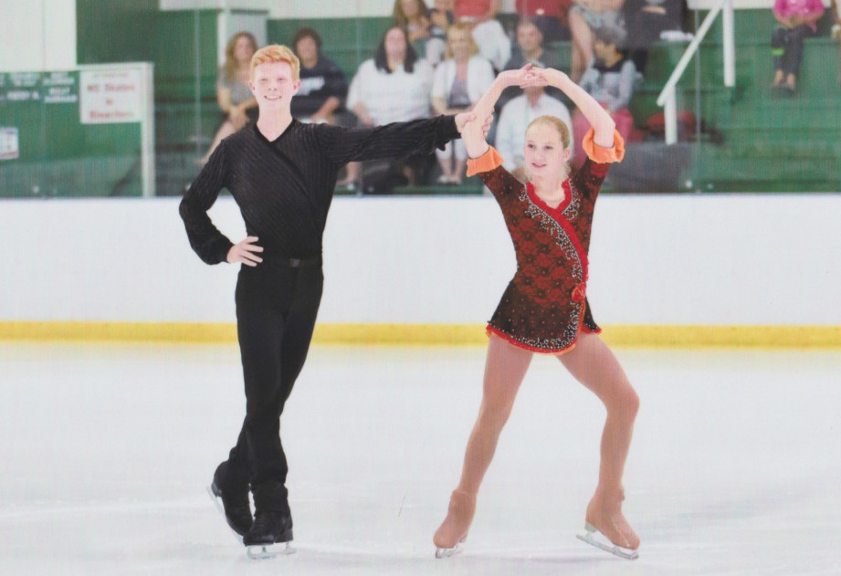 The pairs performance of Julia Curran and Franz-Peter Jerosch was good enough for a silver medal at Saturday's U.S. Figure Skating Championships in Minneapolis.