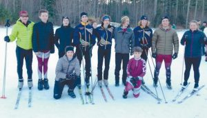 THE FREEPORT HIGH SCHOOL Nordic boys ski team won the Western Maine Conference 'Skate' Championship on Tuesday at Starks Hill in Fryeburg. The Falcons garnered 24 points to easily out-distance runner-up Falmouth. The 'Classic' will be held on Saturday.