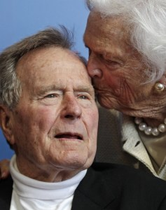 George and Barbara Bush have been married for 71 years.