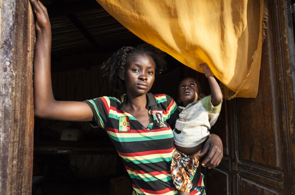 In Bangui, the capital of the Central African Republic, five women and girls spoke this month about sexual abuse allegedly committed against them by U.N. peacekeepers at the height of their country's crisis. Rosine Mengue is one of them.