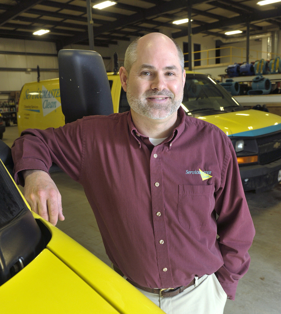 """Some of Carl Carlson's ServiceMaster cleanup workers will appear on the March 13 episode of """"Hoarders."""""""