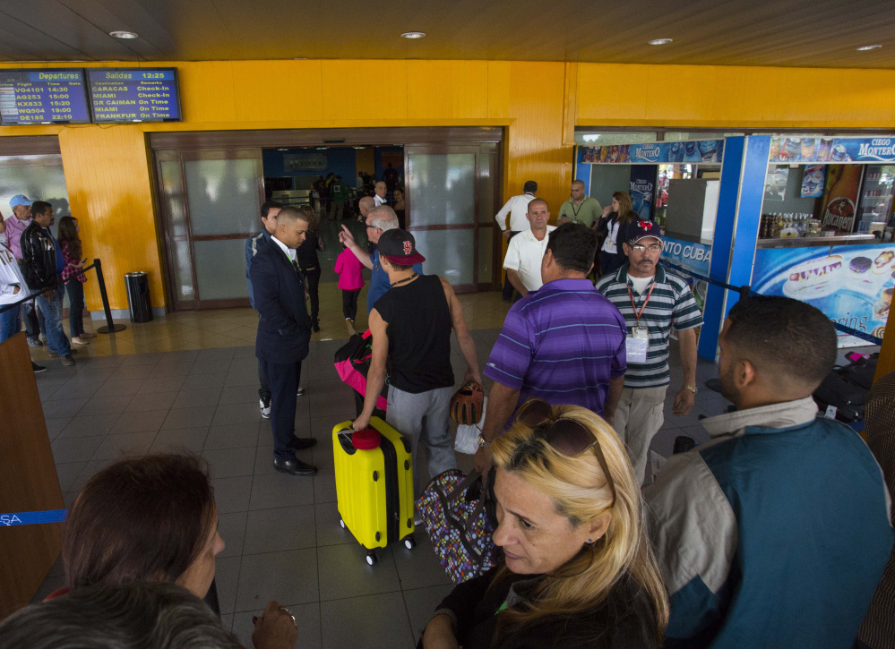 The charter departures terminal at Jose Marti International Airport in Havana is certain to see increased business now that the U.S. and Cuba are resuming commercial air traffic.