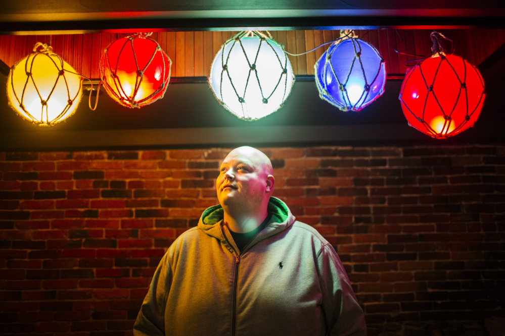 """Loring, whose menus feature some of the most flamboyantly fatty offerings in the city, no longer partakes of the Apocalypse Now burger or his """"bacon-dusted"""" fries. Over one year, he lost 100 pounds as part of a health regimen that included kale smoothies and exercise."""