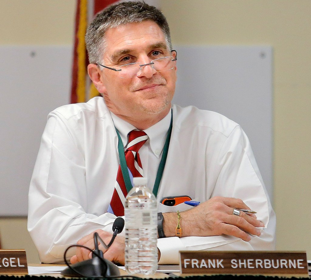 SAD 6 superintendent Frank Sherburne.