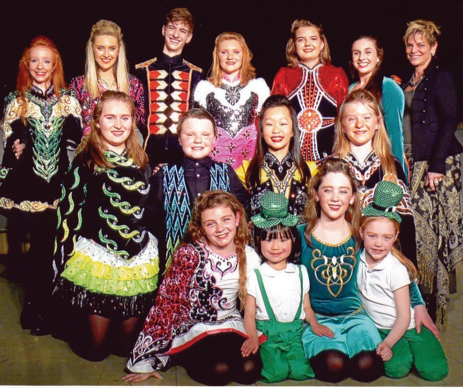 Dancers from Stillson School of Irish Dance wow the audience in their annual St. Patrick's Day performance in Ogunquit.
