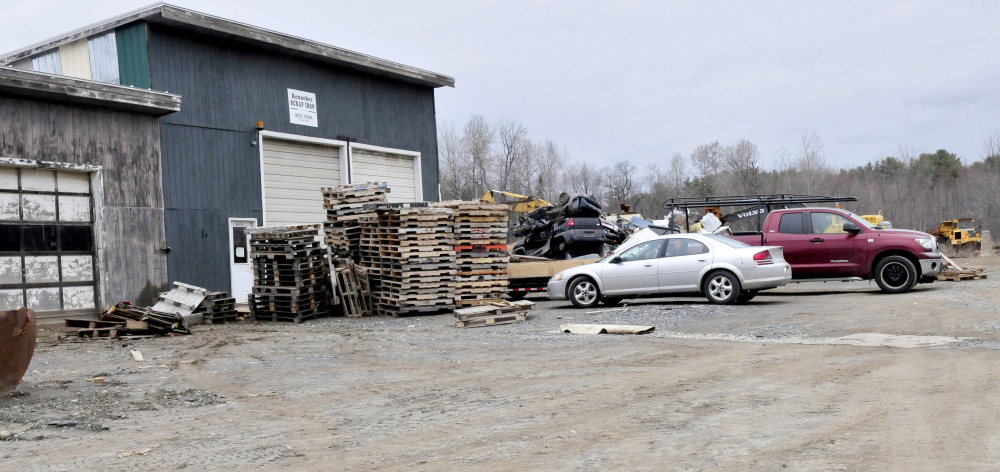 Kennebec Scrap Iron Inc. business in Oakland has been sued by the United States Environmental Protection Agency, which alleges the company is violating the Clean Water Act.