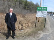 """Gorham Zoning Administrator David Galbraith says the 258-acreecomaine site on Route 25 in Gorham is a """"great piece of property."""" Ecomainedirectors haveagreed to sell the site to the Shaw Brothers Family Foundation for $1.75 million."""