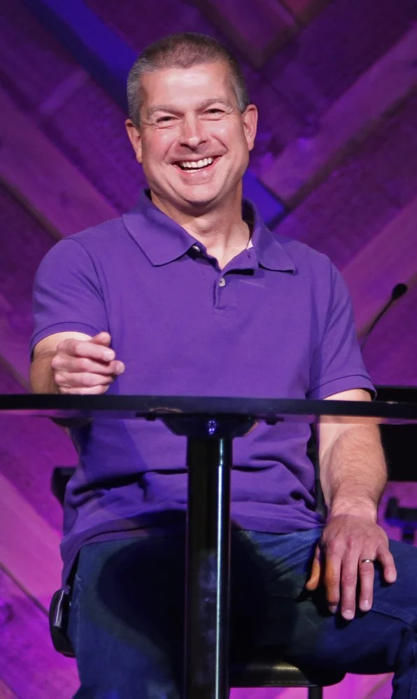 Pastor Scott Taube started Eastpoint Christian Church in a rented movie theater in South Portland in 2004.