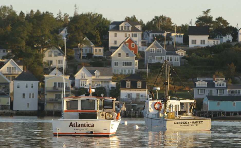 There is only one place in the state, in the waters of eastern Penobscot Bay off Stonington, above, Vinalhaven and Isle au Haut, where a resident who completes the training and safety classes can get a license to lobster without waiting for at least a decade.
