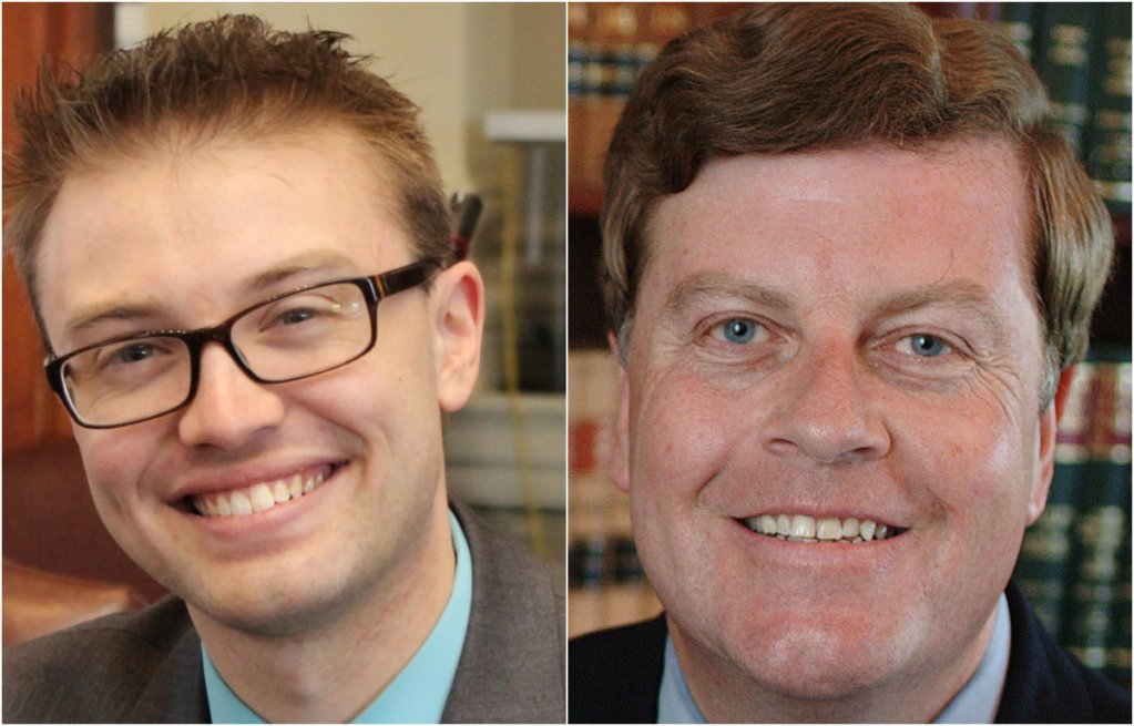 Justin Chenette, left, and Barry Hobbins