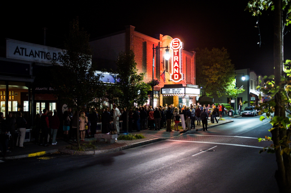 The Strand Theatre in Rockland is one of the venues for the Camden International Film Festival, scheduled this year from Sept. 15-18.