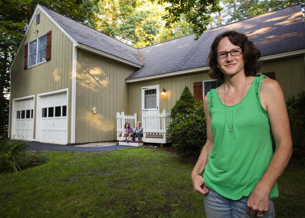 """Linda Jarochym, who rents out her Ogunquit home in the summer, doesn't think she's hurting local hotel and inn businesses. """"I think we are bringing more money here, not taking away from hotels,"""" she said."""