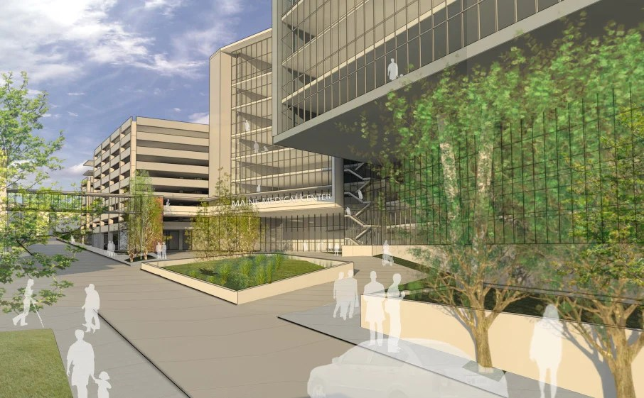 Maine Medical Center proposes its largest expansion ever, at