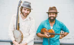 JOE SEAMONS AND BEN HUNTER will perform at the Phippsburg Congregational Church on Friday at 7:30p.m.