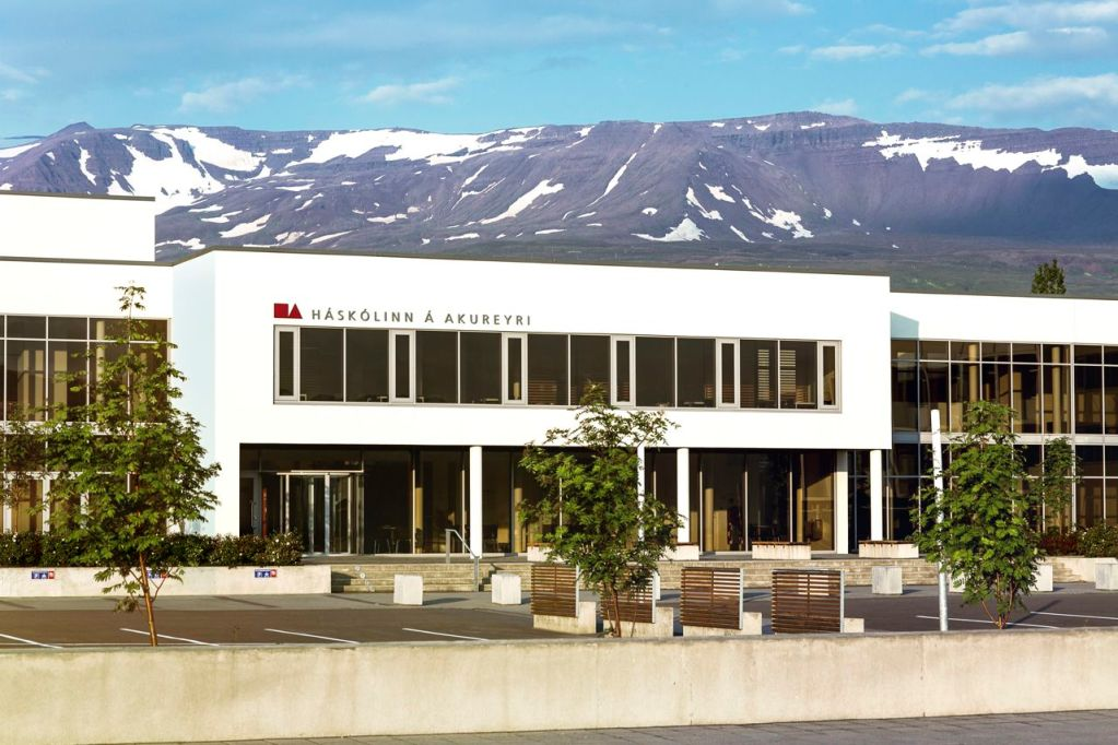Campus of the University of Akureyri in Akureyri, Iceland. <em>University of Akureyri photo</em>