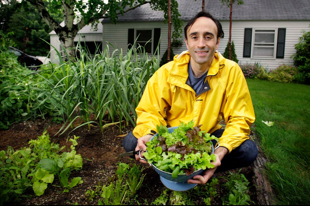 Roger Doiron hopes the White House garden thrives on after the Obamas leave office. Associated Press/Robert F. Bukaty