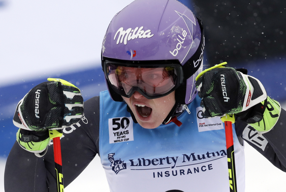 World Cup skiing: Tessa Worley of France wins giant slalom