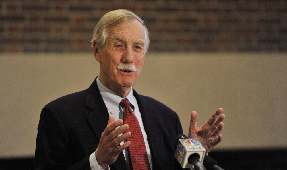 Maine Sen. Angus King wrote a letter to President Obama in November, urging him to declassify information regarding Russian attempts to influence the U.S. presidential election through hacking and propaganda.