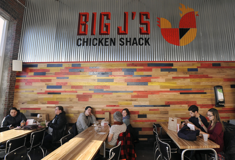 Big J's Chicken Shack at Thompson's Point.