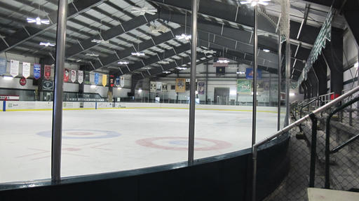 """Organizers want to make Union Arena in Woodstock, Vt, the nation's first community skating rink to go """"net zero"""" on energy, meaning no money is spent on electricity or heating fuel.     Associated Press/Wilson Ring"""