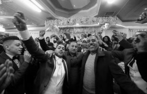 ARAB FAMILIES OF AFRICAN DESCENT attend a wedding in the West Bank city of Ramallah in 2016.