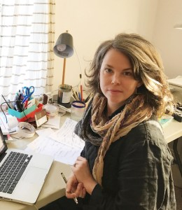 """Abigail Gray Swartz, a freelance illustrator, says it has been her long-held dream to work for The New Yorker, """"so I am pinching myself now that it has happened."""""""