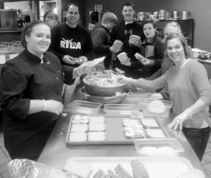 THE MORSE INTERACT CLUB, with help from the BRCTC Culinary Arts students held a Lunch For Leaders sandwich drive on February 10 to raise funds to send additional students to RYLA in June.