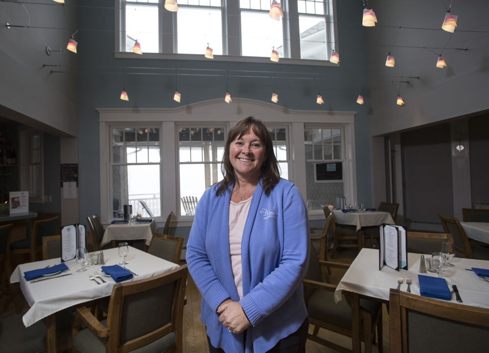 Sarah Diment, owner of the Beachmere Inn in Ogunquit, says a number of her guests are visiting Maine for the first time, a trend she attributes to the state's marketing effort.