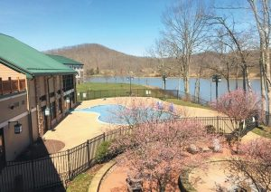 THIS PHOTO shows the grounds at Stonewall Resort in Roanoke, West Virginia.
