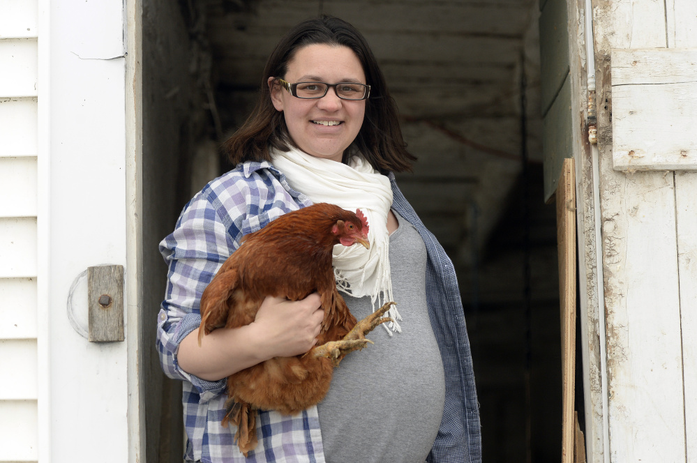 Every year of sustainable living gets a little bit better for Jackie Lipsky of Wells.